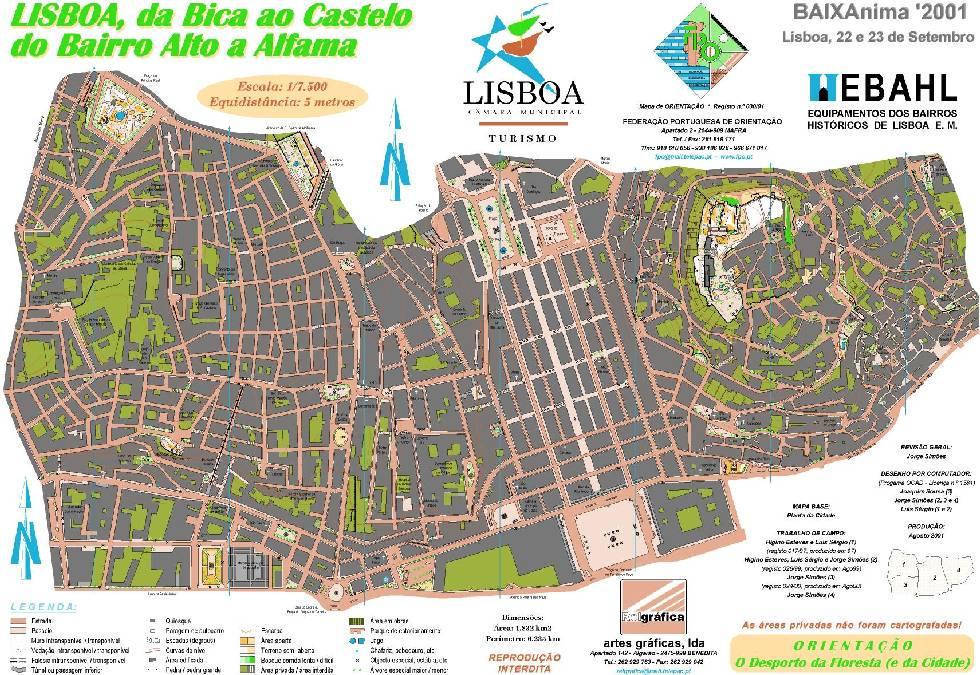 Mapa De Lisboa Oeste Lisbon Map West My Own Private Lisboa